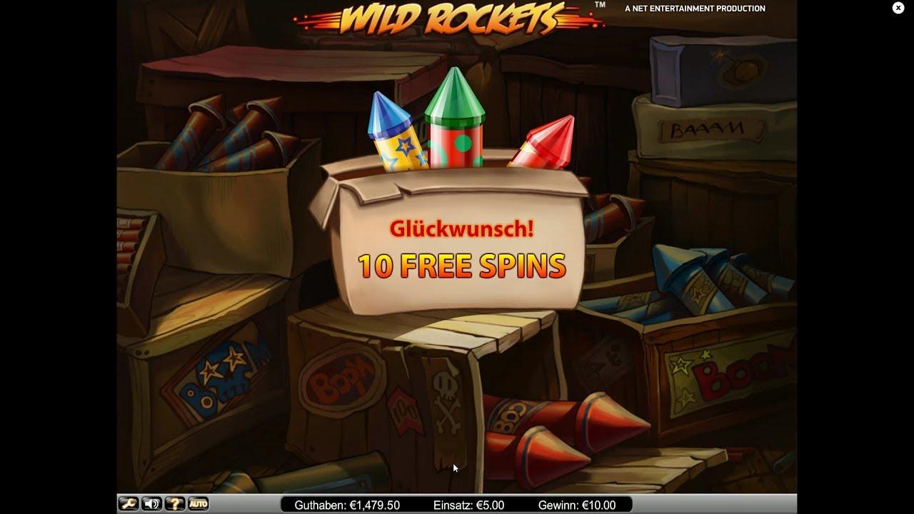 wild rockets spielen