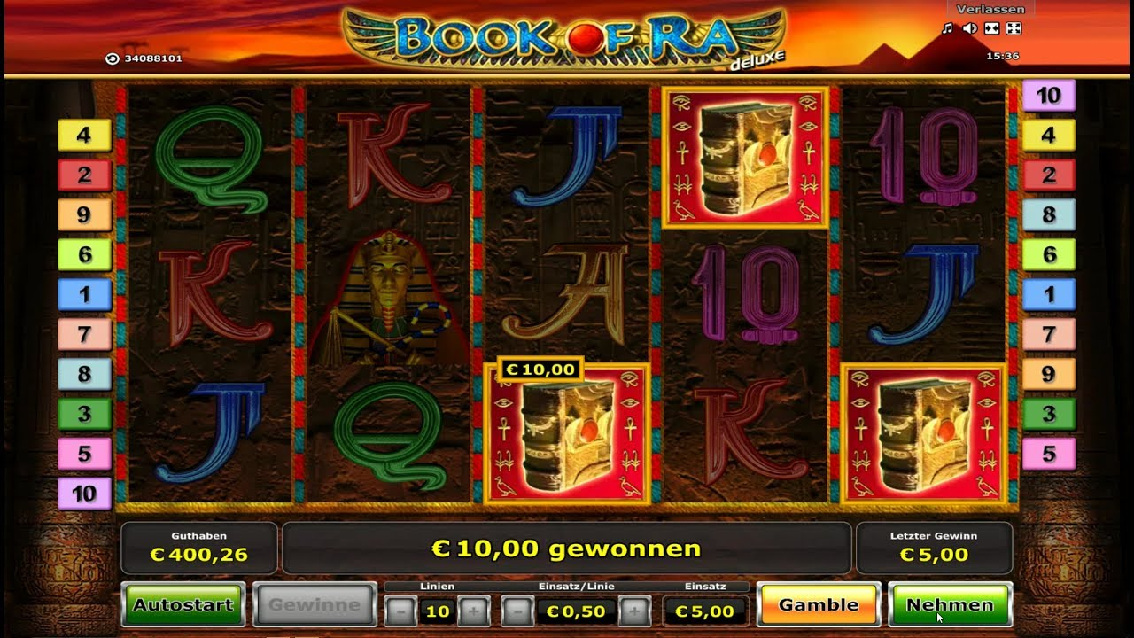 slots online no deposit book of ra bonus