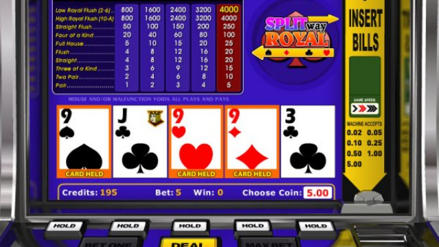 Split Way Royal slot