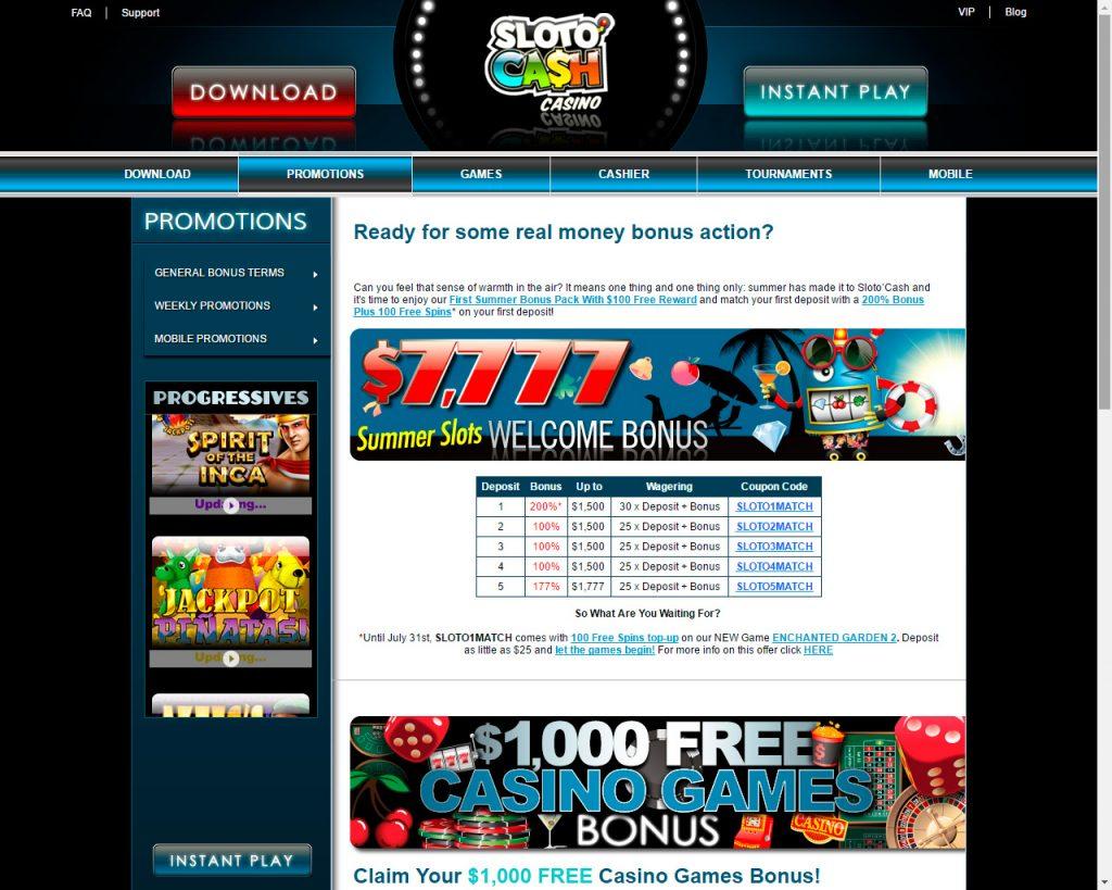 slotocash online casino review