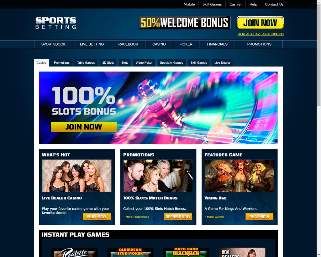 sports betting casino online