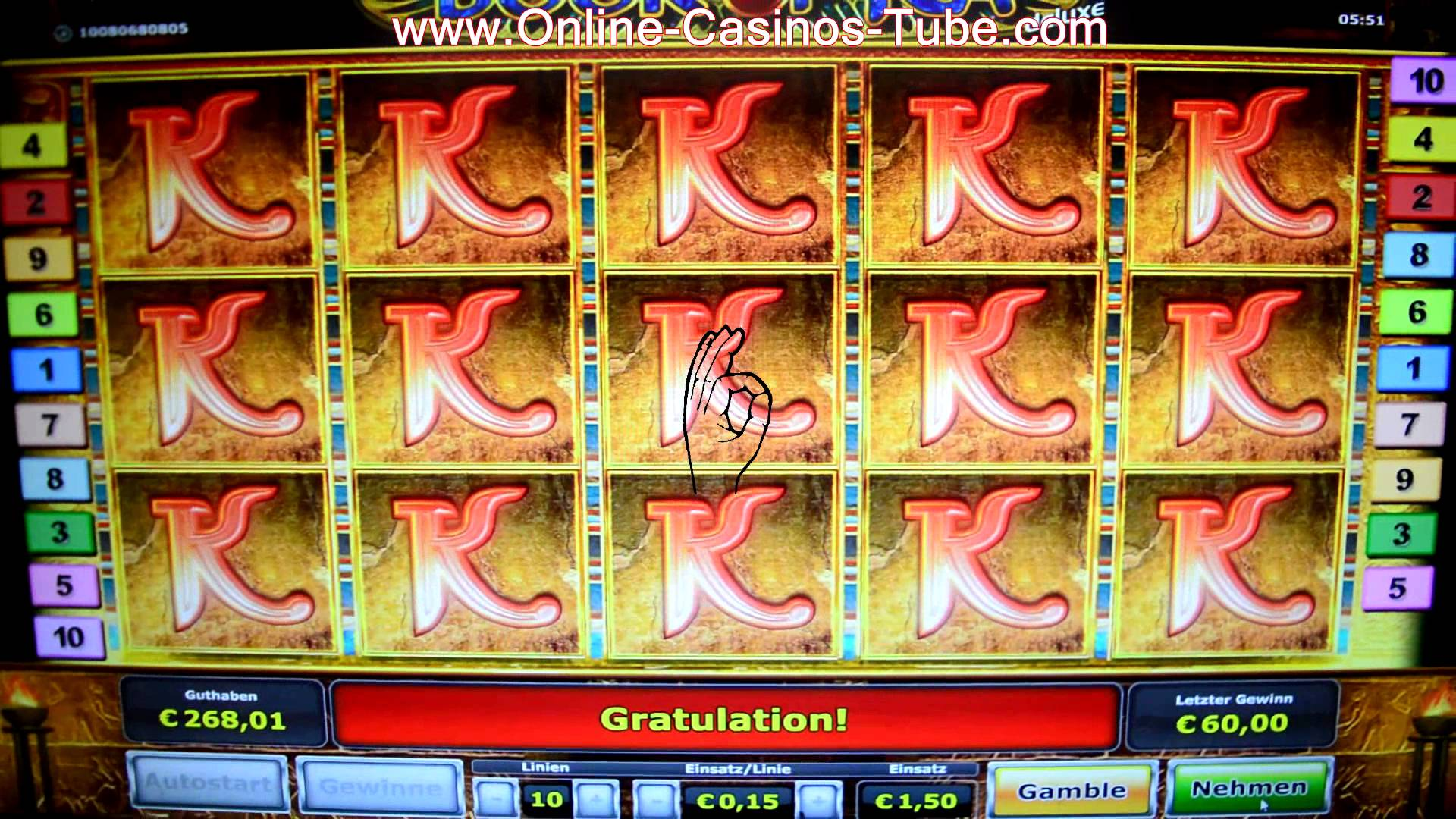 book of ra online casino spielautomat spiel