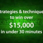 Real Money Poker – How I Win $15,000 in 30 minutes – by Cashinpoker.com