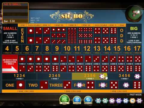 video slot free online sic bo
