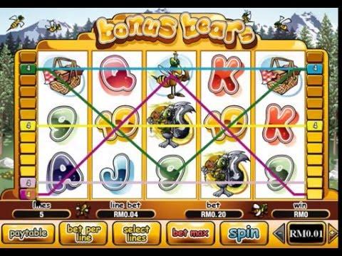 Play Bonus Bears Online Pokies at Casino.com Australia