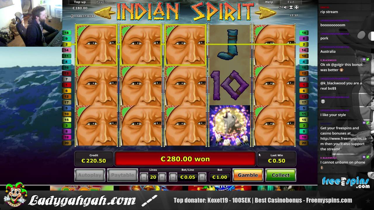 free online casino no deposit required indian spirit