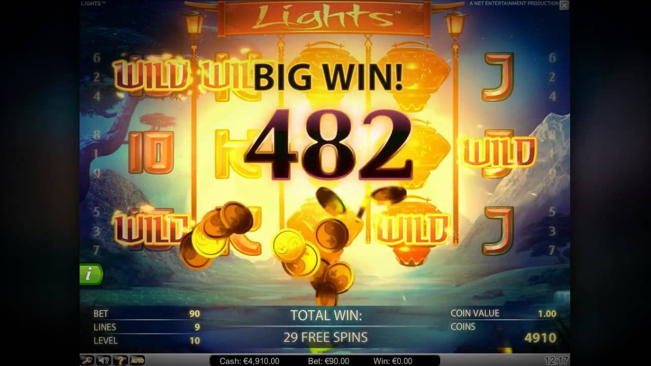 Lights Slot Online Machine for Real Money - Netent Casino