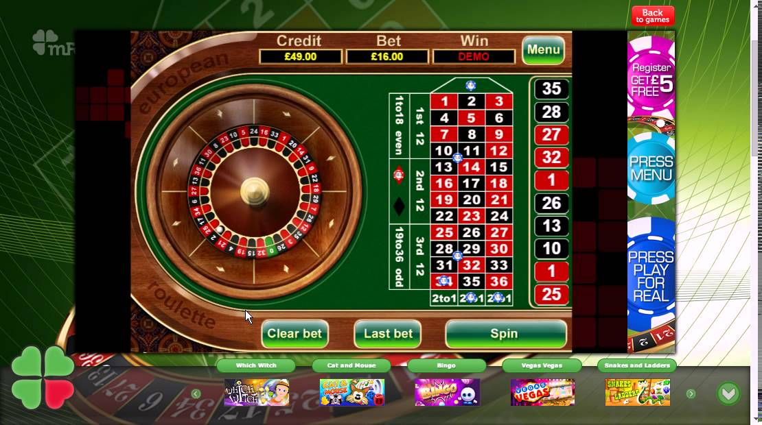 Play European Roulette Online at Casino.com Canada