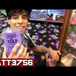Winning Tickets in the Claw Machine ~ Arcade Game Jackpot Challenge Can We Win It? | Matt3756