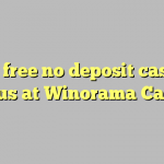 105 free no deposit casino bonus at Winorama Casino