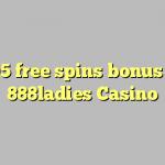 105 free spins bonus at 888ladies Casino