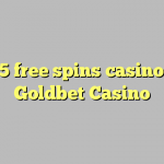 105 free spins casino at Goldbet Casino