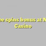 140 free spins bonus at Norges Casino