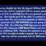 William Hill Poker No Deposit Bonus Code Review – Get $100 Free Poker Money on William Hill Poker