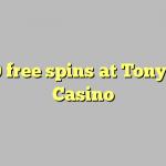 160 free spins at TonyBet Casino
