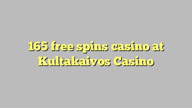 165 bebas berputar kasino di Kultakaivos Casino
