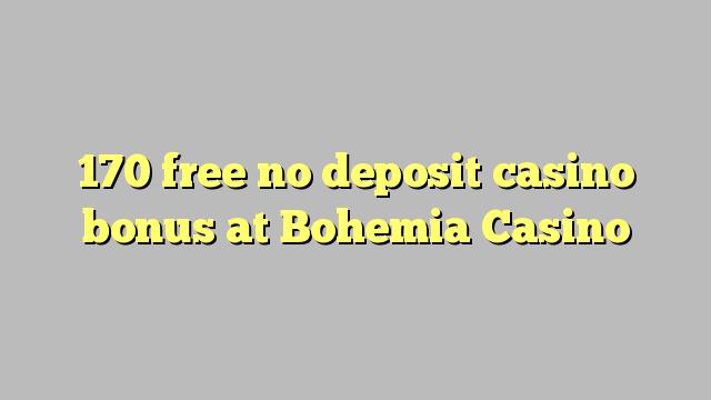170 frigöra no deposit casino bonus på Bohemia Casino
