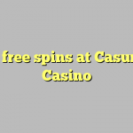 25 free spins at Casumo Casino