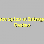 35 free spins at Intragame Casino