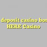 75 no deposit casino bonus at HERE Casino