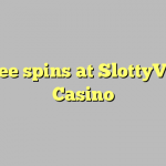 85 free spins at SlottyVegas Casino