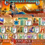 Cleopatra's pyramid slot
