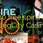 100 free spins at BlingCity Casino