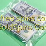 105 free spins casino at GoldSpins Casino