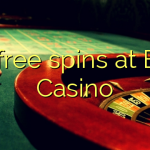 120 free spins at Boss  Casino