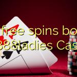 120 free spins bonus at 888ladies Casino