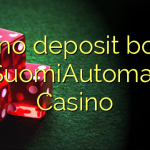 120 no deposit bonus at SuomiAutomaatti Casino