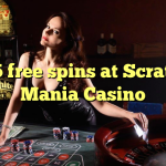 125 free spins at Scratch Mania Casino