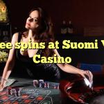 125 free spins at Suomi Vegas Casino