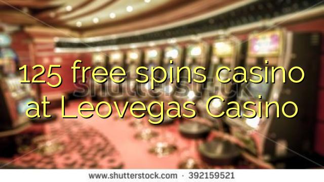 125 bébas spins kasino di Leovegas Kasino