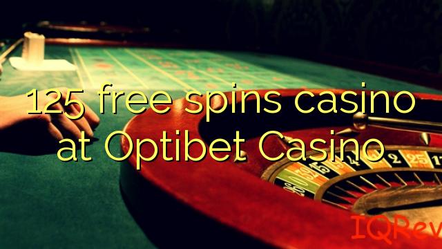 125 bébas spins kasino di Optibet Kasino