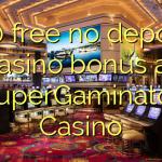 130 free no deposit casino bonus at SuperGaminator Casino