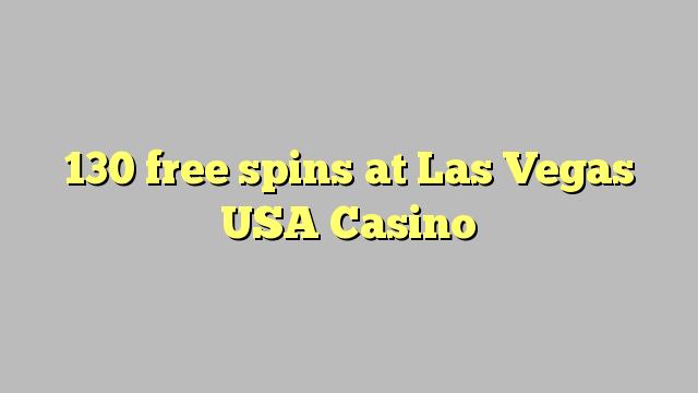 130 rodadas grátis em Las Vegas EUA