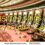 135 free spins at CrazyScratch Casino