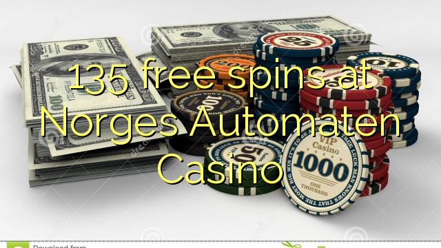 135 turnaje zdarma v kasinu Norges Automaten