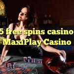 135 free spins casino at MaxiPlay Casino