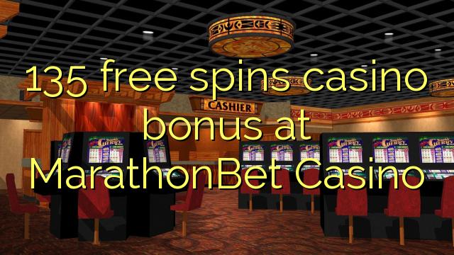 135 gratis spinner casino bonus på MarathonBet Casino