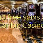 140 free spins at Caribic  Casino