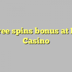 140 free spins bonus at Rules Casino