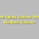 140 free spins casino bonus at Redbet Casino