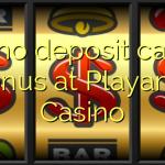145 no deposit casino bonus at Playamo Casino
