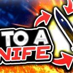 $1 TO A KNIFE! (casino Roll Gambling)