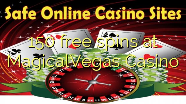 150 tasuta keerutab kell MagicalVegas Casino