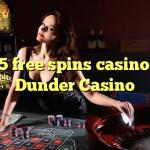 155 free spins casino at Dunder Casino