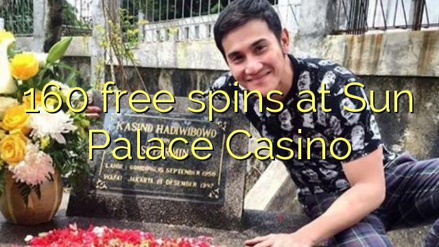 Sun Palace Casino 160 bedava oyun