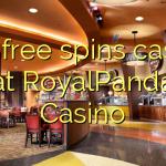 165 free spins casino at RoyalPanda Casino